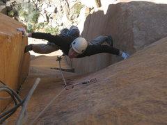 Rock Climbing Photo: Jon on 3rd pitch.