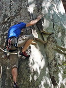 Rock Climbing Photo: Working first 5.10 in Magazine