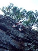 Rock Climbing Photo: Fairly new 5.10 at HCR