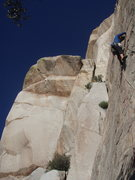 Rock Climbing Photo: moving on flakes