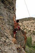 Rock Climbing Photo: Bob on the start