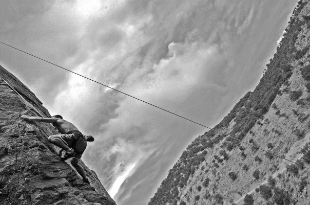 Rock Climbing Photo: Bob