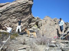 Rock Climbing Photo: Joe and Justin