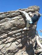 Rock Climbing Photo: Justin