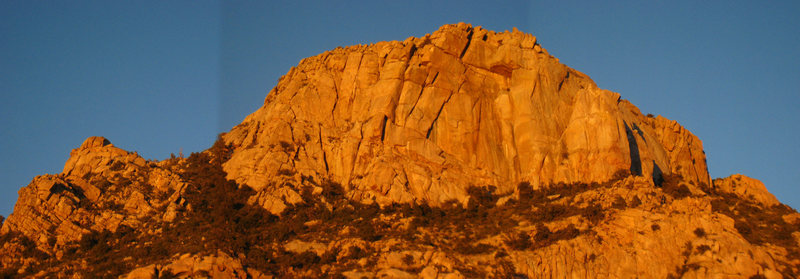 Rock Climbing Photo: Composite photo of Granite Mountain