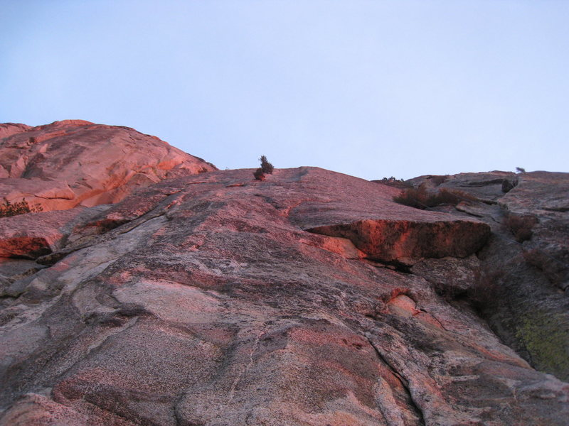 Rock Climbing Photo: West Face - Left Side as seen in the November sett...