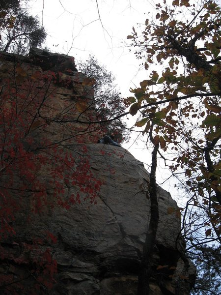 Rock Climbing Photo: Runouts are inconsequential...really.