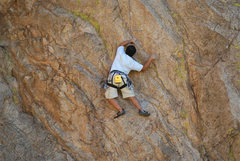 Rock Climbing Photo: Easy does it...