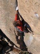 Rock Climbing Photo: Dan Dalton climbs Whimsical Dreams.