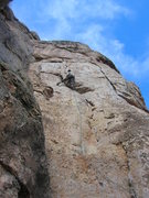 Rock Climbing Photo: Purple Toe Nails.  Mmmmmm.