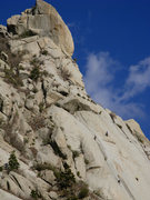 Rock Climbing Photo: Two parties of climbers on The Thumb.  Nov. 23, 20...
