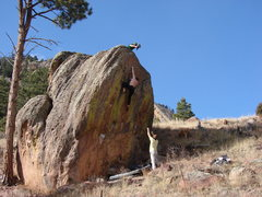 "Rock Climbing Photo: Sending ""What about Bob?"", Flatirons."