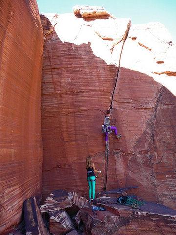 Rock Climbing Photo: Atman, Red Rocks, Las Vegas