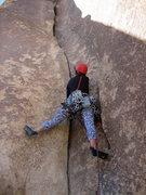 Rock Climbing Photo: Touch and Go, Joshua Tree