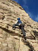 Rock Climbing Photo: The first pitch (5.10a) of The Horse and Pony Show...
