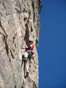 Rock Climbing Photo: Mike on P2.