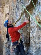 Rock Climbing Photo: CVL on the start of P4.