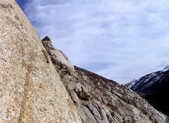 Rock Climbing Photo: The views from anywhere on the buttress are amazin...