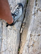 Rock Climbing Photo: I love finding old pitons.