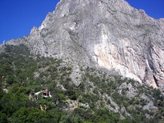 Rock Climbing Photo: The view from the front yard.  Outrage Wall in the...