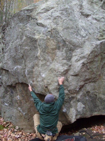 dave cote on the sit start to this problem