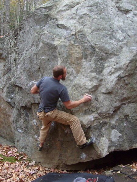 dave cote having fun on this great problem