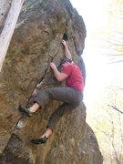 Rock Climbing Photo: Matt on EDCL.