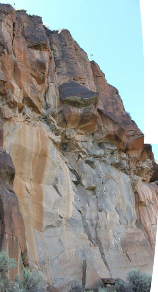 Rock Climbing Photo: Poorly merged photos of Milagro Beanfield War and ...