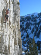 Rock Climbing Photo: Greg M  on Wovoka Nov 25th