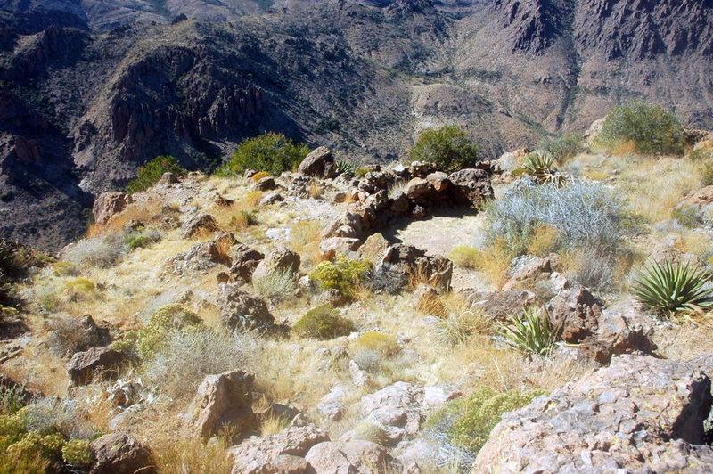 The summit campsite