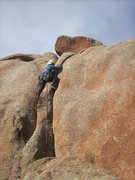 Rock Climbing Photo: Upper section of route.