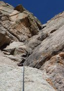 Rock Climbing Photo: PITCH 3: Cranking Skills or Hospital Bills. Robb M...