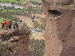 Rock Climbing Photo: Slacking