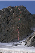 Rock Climbing Photo: As seen from the Moraine campground