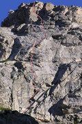 Rock Climbing Photo: As seen from Lake Taminah