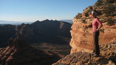 Rock Climbing Photo: On one of the false summits, the view is still awe...