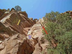 Rock Climbing Photo: The Classic Line, Isaih