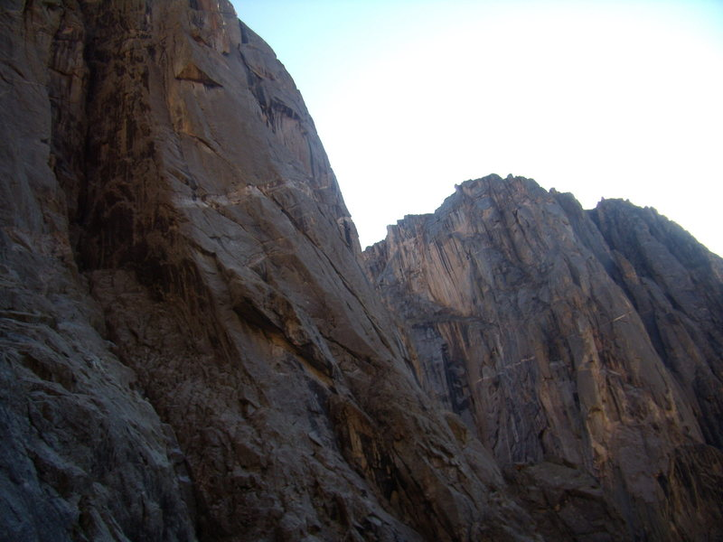 Rock Climbing Photo: Escape Artist Nov 23rd.  2008.  With Jordon Griffl...