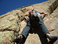 Rock Climbing Photo: Jordon doing an exceptional job as rope-gun (as us...