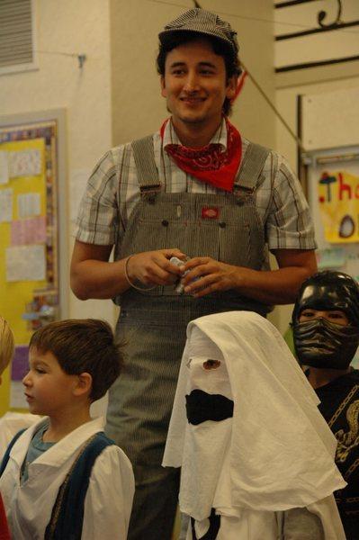 A kindergarten Halloween
