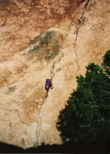 Rock Climbing Photo: Back in the day, 1997.