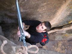 Rock Climbing Photo: chain ladder