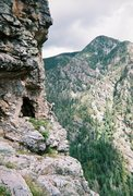 Rock Climbing Photo: First ascenting at the Pine River.  Photo by Chris...