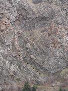 Rock Climbing Photo: Trail beta.