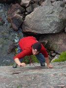 Rock Climbing Photo: Dancing. Photo by Emily Darrell.