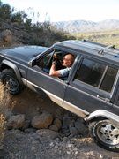 Rock Climbing Photo: High clearance vehicle required.