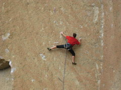 Rock Climbing Photo: 4th bolt