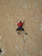 Rock Climbing Photo: First 5.13 crux