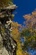 Rock Climbing Photo: Autumn at Hinterlands