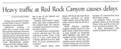 Rock Climbing Photo: Red Rock Closed!!